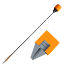 S.F. Arrow - Screwed Foam Safe Arrow - Orange