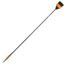 Flat foam tip orange Larp arrow