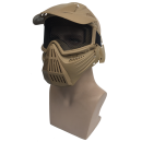 Archery game protective mask (Steel Mesh) -YLW
