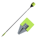 S.F. Arrow - Screwed Foam Safe Arrow - Green