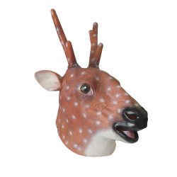 Sika deer Latex Mask
