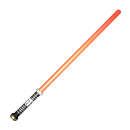 Larp lightsaber with red blade