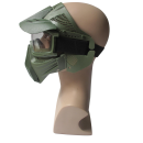 Archery sport game full face safety mask -GR