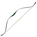Youth Ambidextrous Recurve Bow - Green