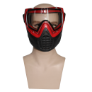 Goggles Mask - Red Frame