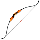 Archery Combat Take Down Recurve LR bow Orange