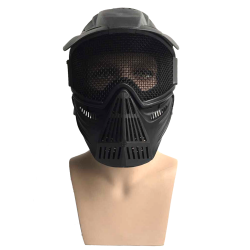 Archery game protective mask (Steel Mesh) -BK