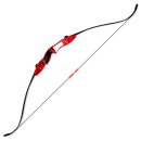 Archery combat Take Down Recurve LR bow II - Red