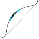 Archery Combat Take Down Recurve LR bow Blue
